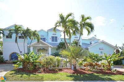 Lighthouse Point Single Family Home For Sale: 2342 NE 25th St