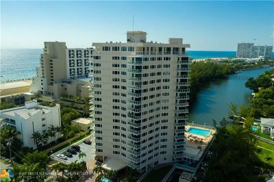 Broward County Condo/Townhouse For Sale: 3000 Holiday Dr #404