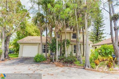 Coral Springs Single Family Home For Sale: 1252 NW 89th Dr