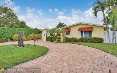 Wilton Manors Single Family Home For Sale: 2117 NE 24th St