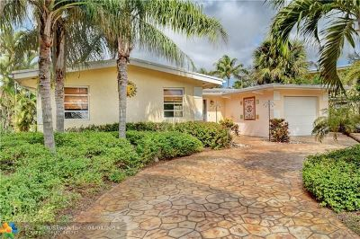 Fort Lauderdale Single Family Home For Sale: 2413 Tortugas Ln