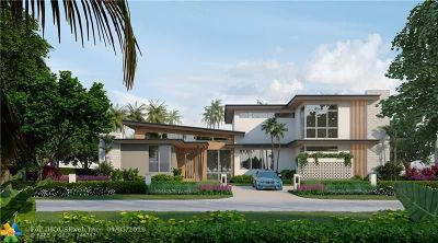 Fort Lauderdale Single Family Home For Sale: 1835 S Ocean Dr