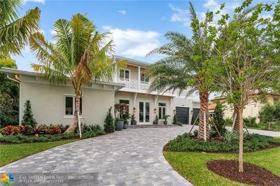 Fort Lauderdale FL Single Family Home For Sale: $3,195,000