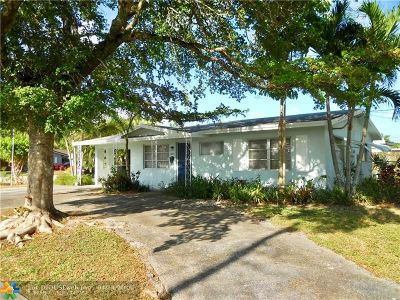 Oakland Park Single Family Home For Sale: 3820 NW 20th Ter