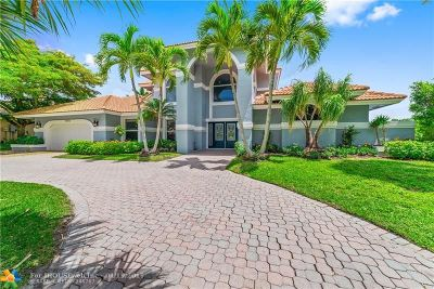 Coral Springs Single Family Home For Sale: 1875 Merion Ln