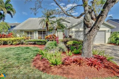 Coconut Creek Single Family Home For Sale: 7180 NW 44th Ln