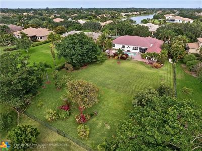 Davie Single Family Home For Sale: 4181 SW 141st Ave