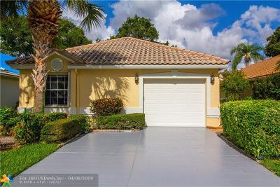 Boynton Beach Single Family Home For Sale: 6114 Bay Isles Dr
