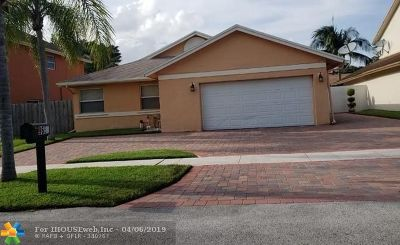 Pembroke Pines Single Family Home Backup Contract-Call LA: 9651 SW 9th Court