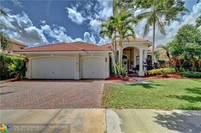 Weston Single Family Home Backup Contract-Call LA: 1581 Island Way