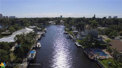 Fort Lauderdale Single Family Home For Sale: 2115 NE 14th Ct
