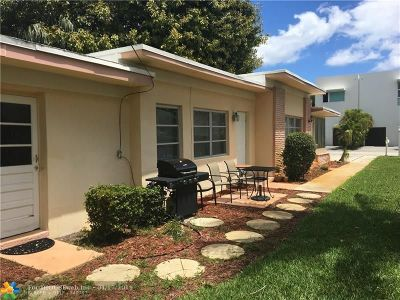 Delray Beach Single Family Home For Sale: 132 NE 7th