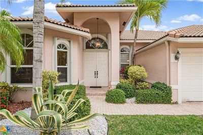 Coral Springs Single Family Home For Sale: 5065 NW 125th Ave