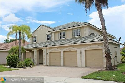 Weston Single Family Home For Sale: 1666 Bunting Lane