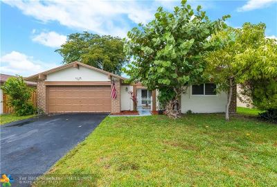 Sunrise Single Family Home Backup Contract-Call LA: 9351 NW 35th Mnr