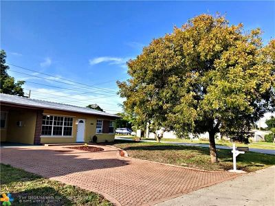 Pompano Beach Single Family Home For Sale: 1461 NE 31st Ct