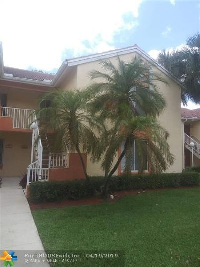 Coral Springs Condo/Townhouse For Sale: 1001 Coral Club #1001