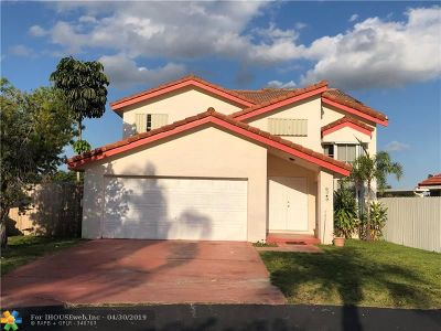 Hialeah Single Family Home For Sale: 8349 NW 189th Street Rd