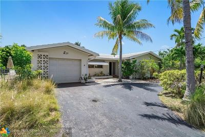 Pompano Beach Single Family Home For Sale: 600 SE 7th Ave