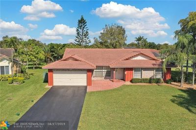 Coral Springs Single Family Home For Sale: 247 NW 107th Way