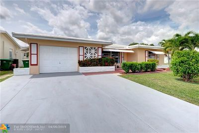 Tamarac Single Family Home For Sale: 5723 NW 66th Ave