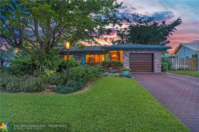 Fort Lauderdale Single Family Home For Sale: 6847 NW 26th Way