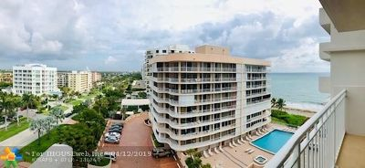 Villa Mare Rental For Rent: 3215 S Ocean Blvd #804