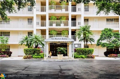 Pompano Beach Condo/Townhouse For Sale: 3520 Oaks Way #302