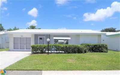 Plantation Single Family Home For Sale: 8971 NW 12th St