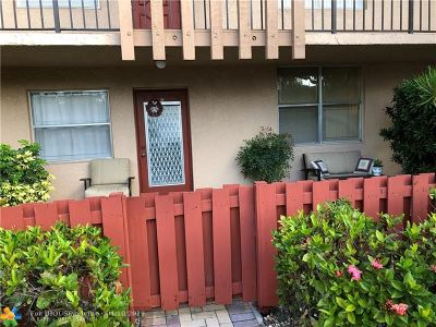 Margate Condo/Townhouse For Sale: 7301 NW 1st St #102