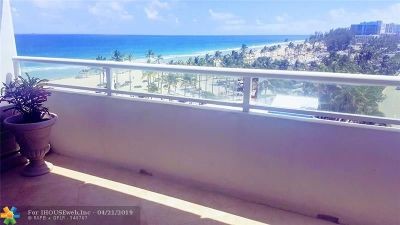 Rental For Rent: 545 S Fort Lauderdale Beach Blvd #703
