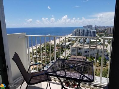Pompano Beach Condo/Townhouse For Sale: 111 Briny Ave #2510