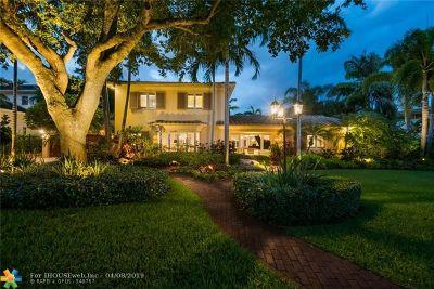 Fort Lauderdale Single Family Home For Sale: 2421 NE 12th St