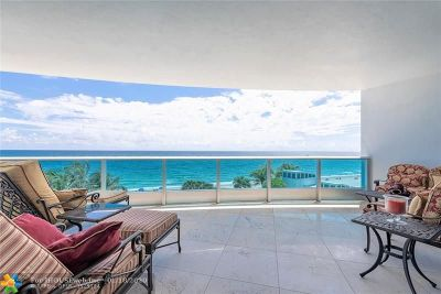 Lauderdale By The Sea Condo/Townhouse For Sale: 1600 S Ocean Blvd #403