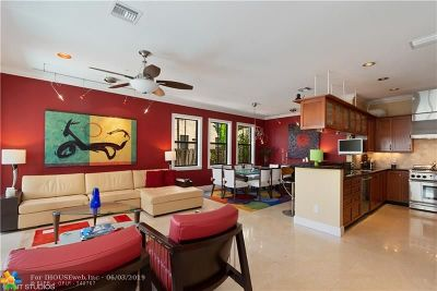 Fort Lauderdale Condo/Townhouse For Sale: 208 NE 13th Ave #208