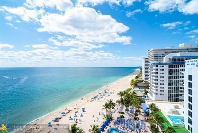 Fort Lauderdale FL Condo/Townhouse For Sale: $979,000