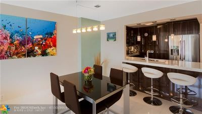 Fort Lauderdale Condo/Townhouse For Sale: 3015 N Ocean Blvd #16B