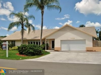 Coral Ridge, Coral Ridge 21-50 B, Coral Ridge Add, Coral Ridge Country Club Single Family Home For Sale: 4709 NE 23rd Ave