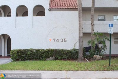 Tamarac Condo/Townhouse For Sale: 7435 Woodmont Ter #102