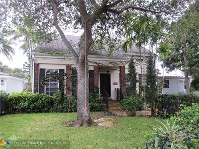 Single Family Home For Sale: 1110 Ponce De Leon Dr