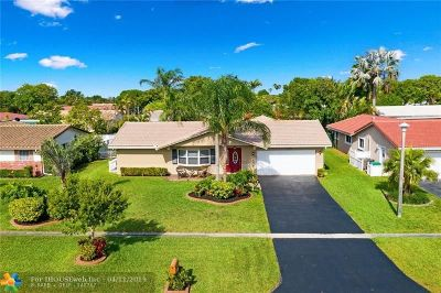 Coral Springs Single Family Home For Sale: 2662 NW 118th Dr