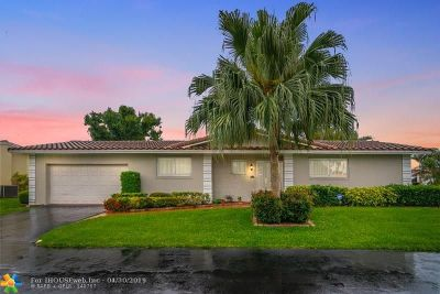 Plantation Single Family Home For Sale: 7172 E Tropical Way