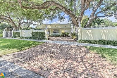 Fort Lauderdale Single Family Home For Sale: 1316 N Rio Vista Blvd