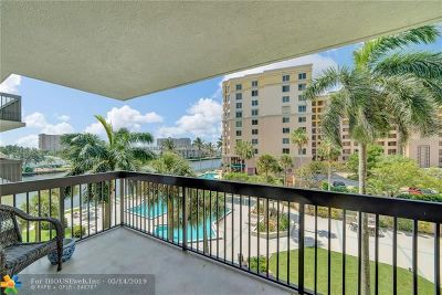 Pompano Beach Condo/Townhouse For Sale: 2900 NE 14th Street Cswy #410