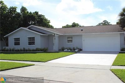 West Palm Beach Single Family Home For Sale: 1193 Fernlea Dr