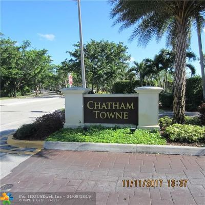 Plantation Condo/Townhouse For Sale: 125 NW 98th Ter #125
