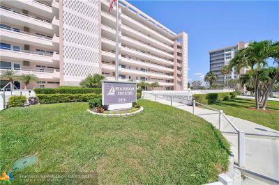 Pompano Beach Condo/Townhouse For Sale: 201 N Riverside Drive #305