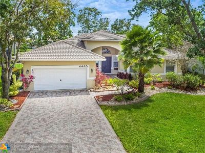 Coral Springs Single Family Home Backup Contract-Call LA: 6460 NW 41st St