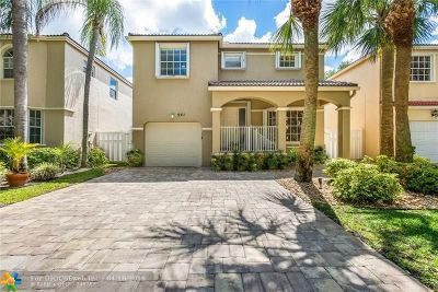 Coral Springs FL Single Family Home For Sale: $354,500