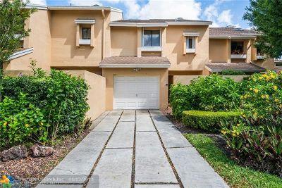 Boca Raton Condo/Townhouse For Sale: 6535 Parkview Dr #G